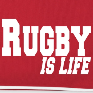 rugby is life Mochilas - Bandolera retro