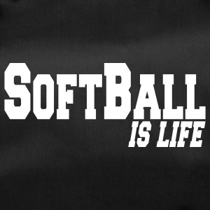 softball is life Borse - Borsa sportiva