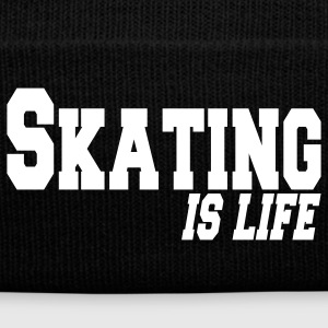 skating is life Caps & Hats - Winter Hat