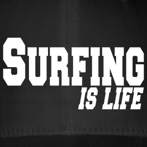 surfing is life Caps & Hats - Flexfit Baseball Cap