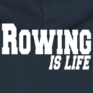 rowing is life Coats & Jackets - Women's Premium Hooded Jacket