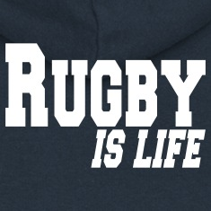 rugby is life Coats & Jackets