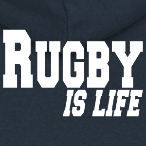 rugby is life Coats & Jackets - Women's Premium Hooded Jacket