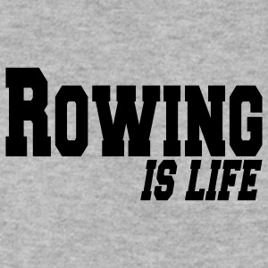 rowing is life Bluzy - Bluza męska