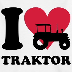 I love Traktor Kinder T-Shirts - Teenager T-Shirt