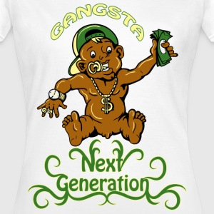 gangsta next generation T-shirts - T-shirt Femme