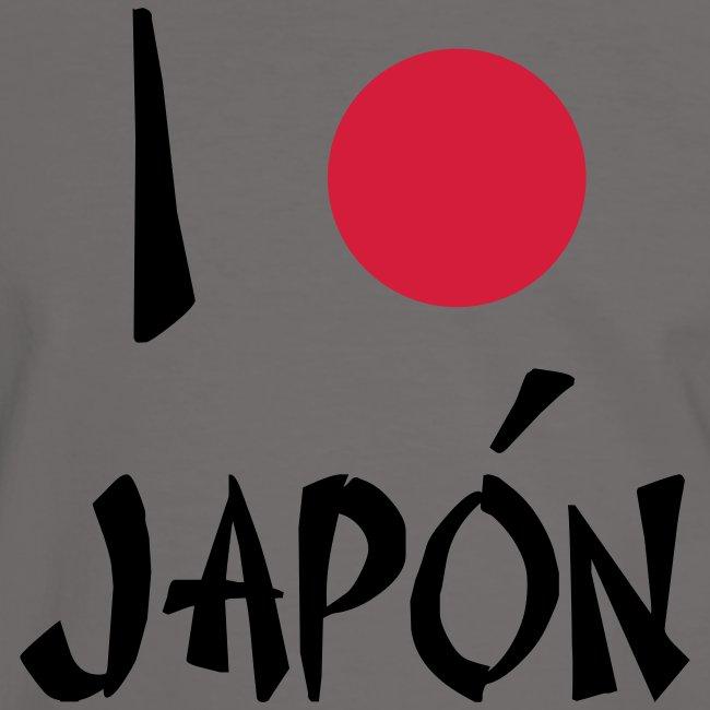 I love japon - camiseta chico manga corta