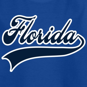 florida white navy Kids' Shirts - Teenage T-shirt