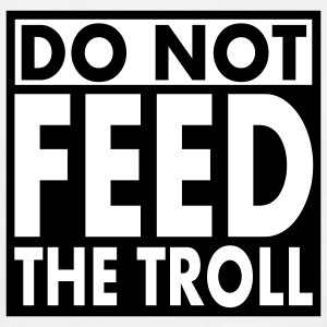 do not feed the troll 2c T-Shirts - Men's T-Shirt