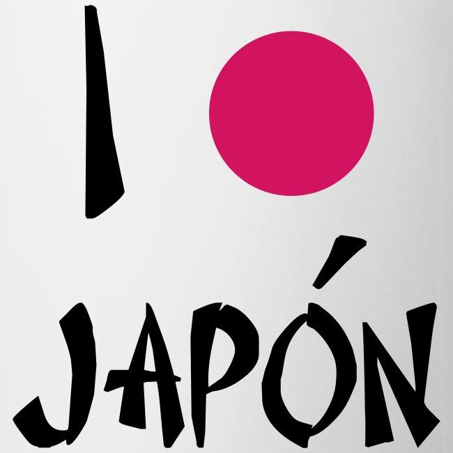 i love japon - taza