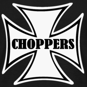 chopper cross T-shirts - T-shirt Homme