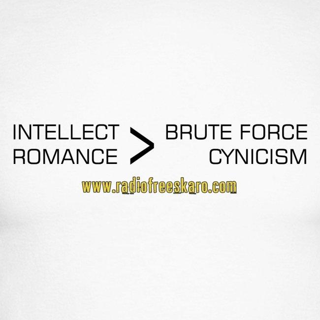 Intellect & Romance (Raglan Long Sleeve)