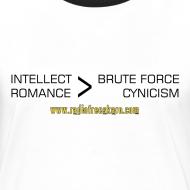 Design ~ Intellect & Romance (Ringer T-Shirt)