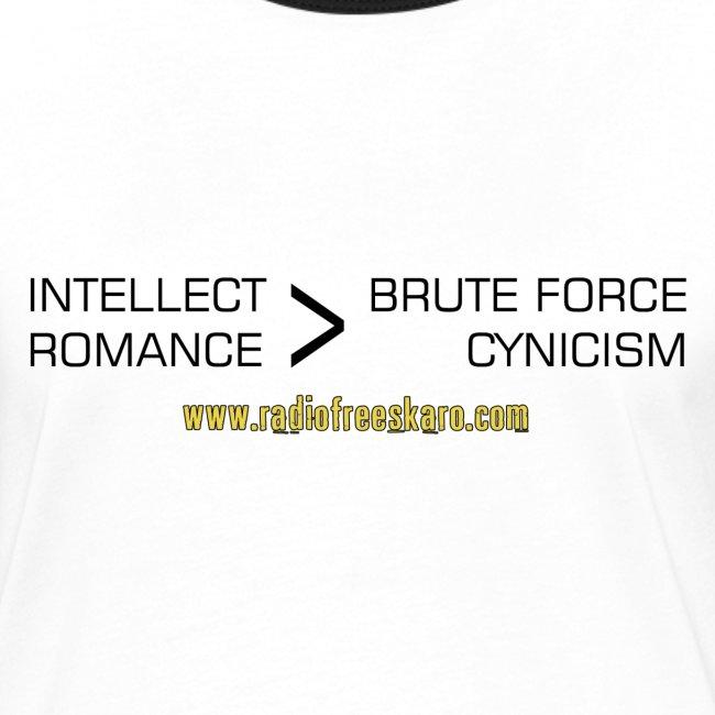 Intellect & Romance (Ringer T-Shirt)