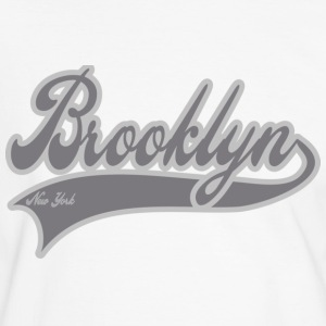 brooklyn new york T-shirt - Maglietta Contrast da uomo