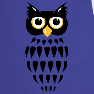 stylized Owl  Aprons - Cooking Apron