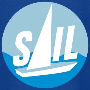 sail_d_3c T-shirts - Teenager-T-shirt
