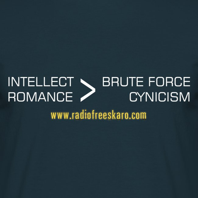 Intellect & Romance (T-Shirt)