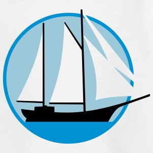 segelschiff_d_3c Shirts - Teenage T-shirt