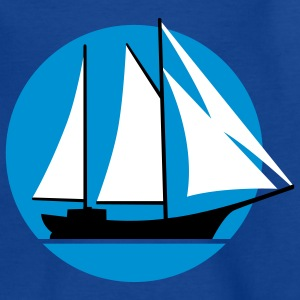 segelschiff_e_3c Shirts - Teenage T-shirt