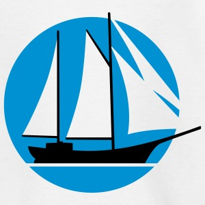 segelschiff_f_2c Shirts - Teenage T-shirt