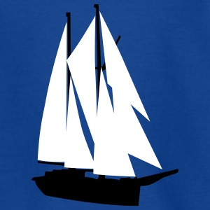 segelschiff_h_2c Shirts - Teenage T-shirt