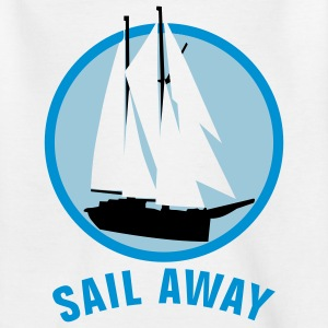 segelschiff_o_3c T-shirts - Teenager-T-shirt