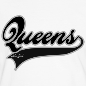 queens new york T-shirts - Mannen contrastshirt