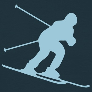 skiing downhill T-shirts - T-shirt Homme