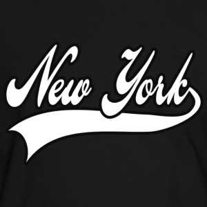 new york T-shirts - Mannen contrastshirt