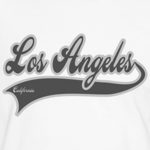 los angeles california T-shirts - Mannen contrastshirt