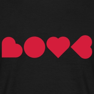 LOVE T-shirts - Mannen T-shirt