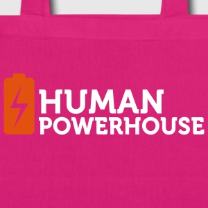 Human Powerhouse (2c) Bags  - EarthPositive Tote Bag