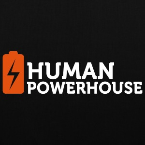 Human Powerhouse (2c) Sacs - Tote Bag