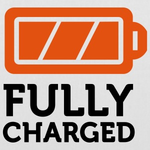 Fully Charged (2c) Bags  - Tote Bag