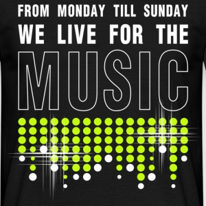 MUSIC T-Shirts - Men's T-Shirt