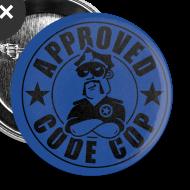Design ~ Code Cop, 'Approved'