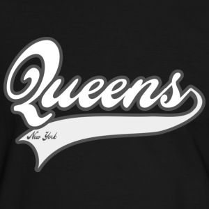 queens new york T-skjorter - Kontrast-T-skjorte for menn
