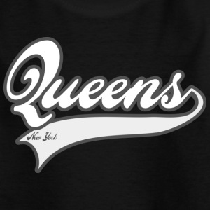 queens new york Barneskjorter - T-skjorte for tenåringer