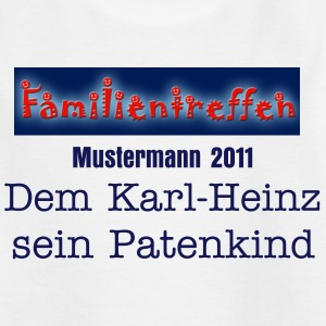 Familientreffen Kinder T-Shirts - Teenager T-Shirt