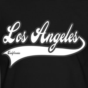 los angeles california T-skjorter - Kontrast-T-skjorte for menn