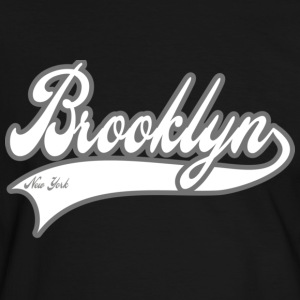 brooklyn new york T-skjorter - Kontrast-T-skjorte for menn