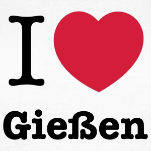 i love giessen (dh)  - Frauen T-Shirt