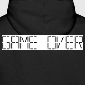 game over Pullover - Männer Premium Hoodie