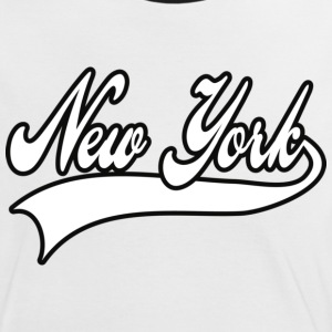 new york T-shirts - Kontrast-T-shirt dam