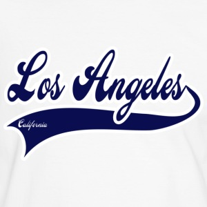 los angeles california T-shirts - Kontrast-T-shirt herr