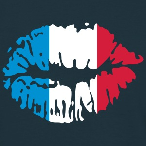 French Kiss | Baiser français | Mund | Mouth | Bouche T-Shirts - Men's T-Shirt