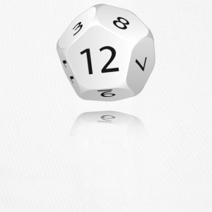 12-sided Die - Flexfit Baseball Cap