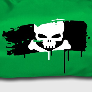 pirate flag painted with a brush stroke Bags  - Duffel Bag