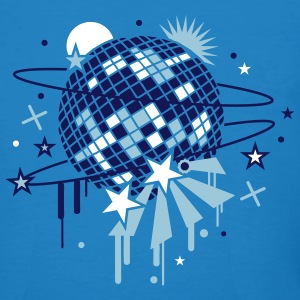 Disco Ball T-Shirts - Men's Organic T-shirt